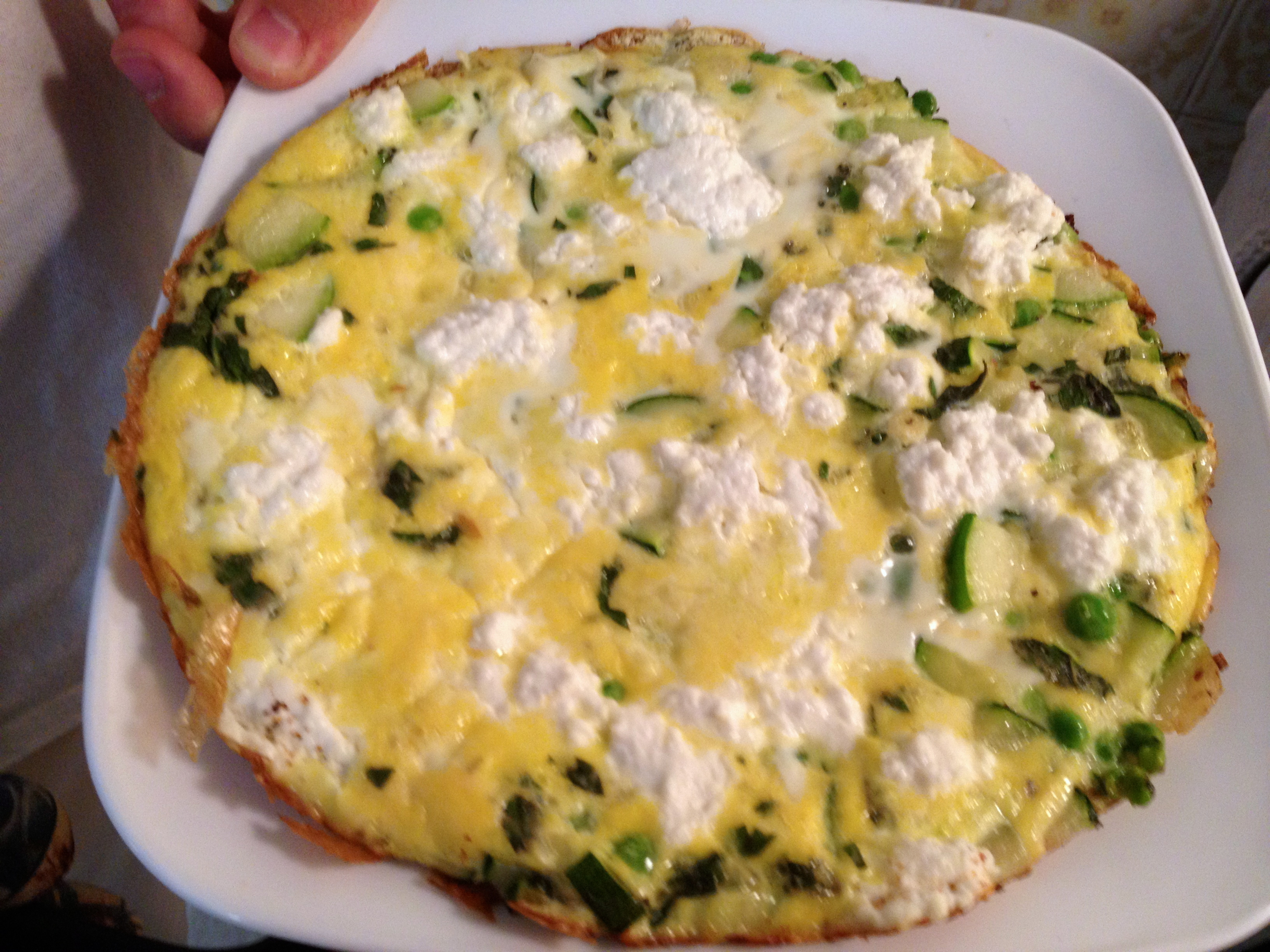 Ricotta And Herb Frittata Recipes — Dishmaps